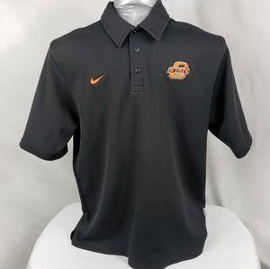 Nike Elite Oklahoma State Polo Short Sleeve